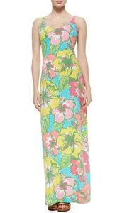 {Lilly Pulitzer} Palm Maxi Dress